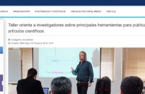 Researchers, tools, publish scientific article